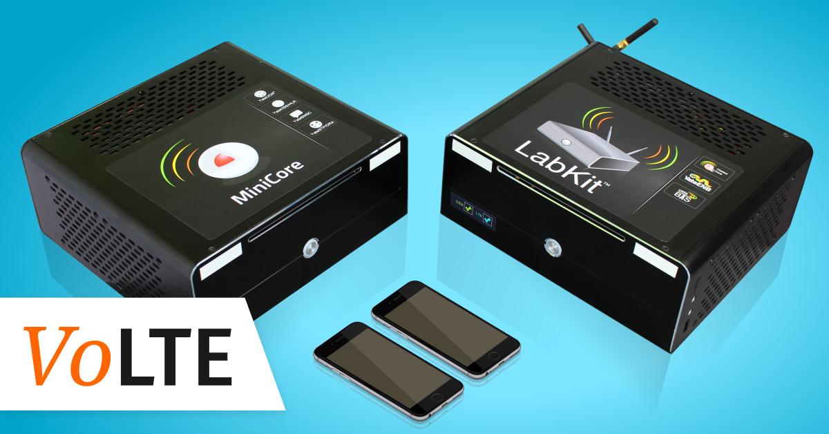 YateBTS VoLTE Lab - eNodeB + Minicore