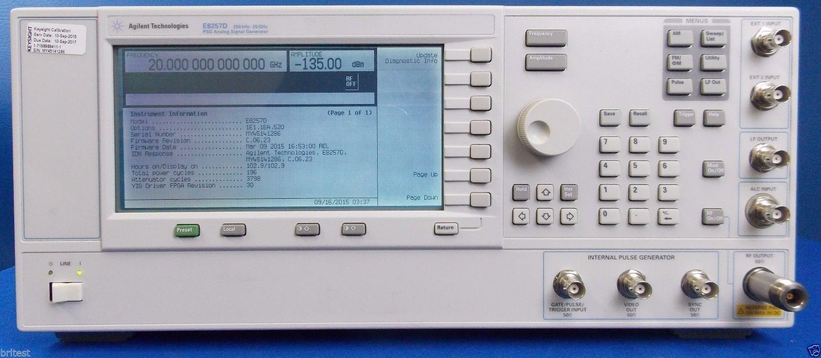 Agilent HP E8257D