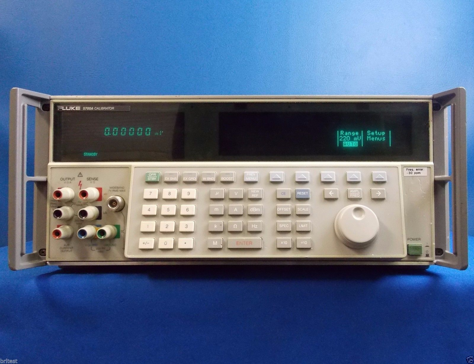 Used Fluke 5700a By Brl Test Inc Used Line Com