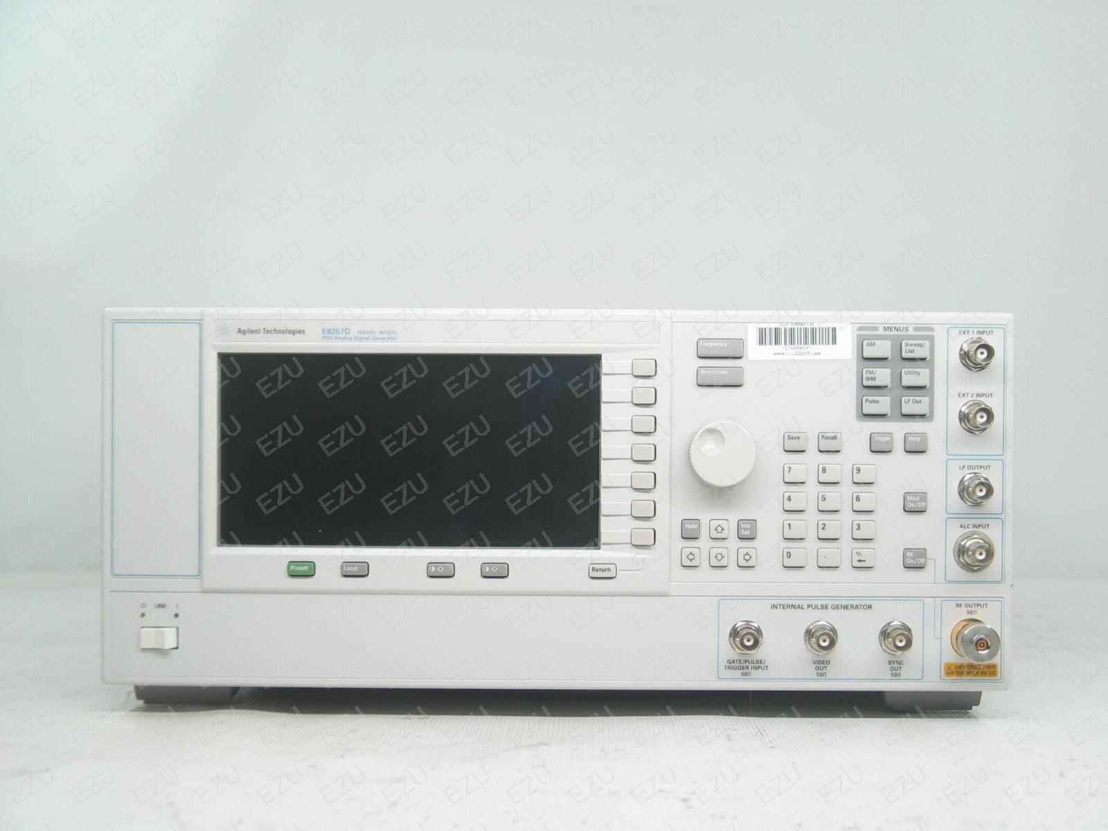Keysight E8257D 007 - 540 - UNT - UNW - UNY